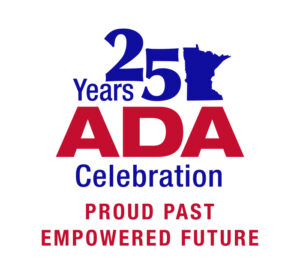 ADA 25th Logo